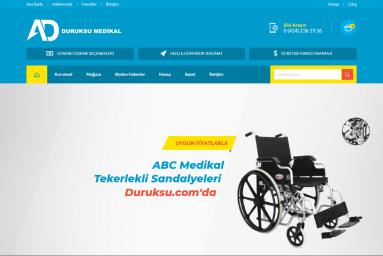 Duruksu Medikal Web Sitesi Açıldı.